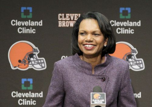 Browns not discussed Condoleezza Rice as coaching candidate