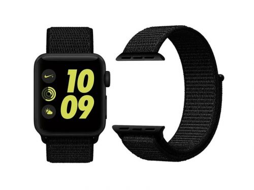 Strap on this woven nylon Apple Watch band for just $8