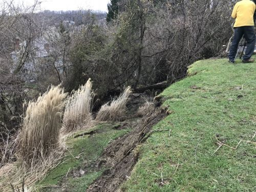 Castle Shannon landslide believed to have broken two septic lines