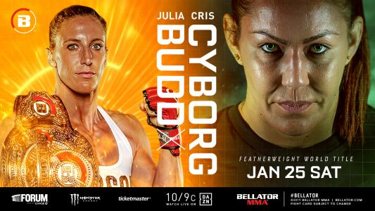 Bellator 238 results: Cris Cyborg stops Julia Budd to win Bellator women's featherweight title