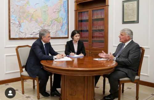 Why was Franklin Graham schmoozing with a sanctioned Russian official this month?