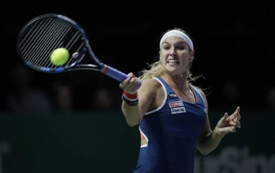 Top-seeded Kerber toils in win vs Cibulkova at WTA Finals