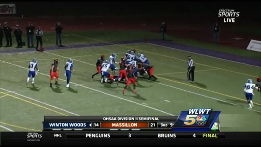 Winton Woods 56, Massillon Washington 21