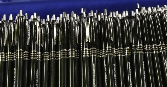 Iconic pen used by military, made by blind people turns 50