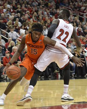 Louisville comes back, holds off Virginia Tech 94-86