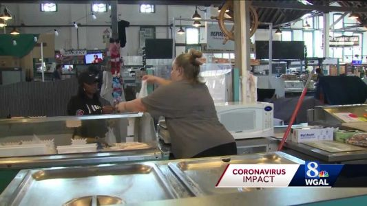 Business slow for few vendors still open at York Central Market