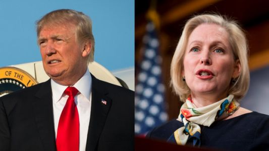 Supporters Defend Kirsten Gillibrand After Trump Delivers 'Sexist Smear'
