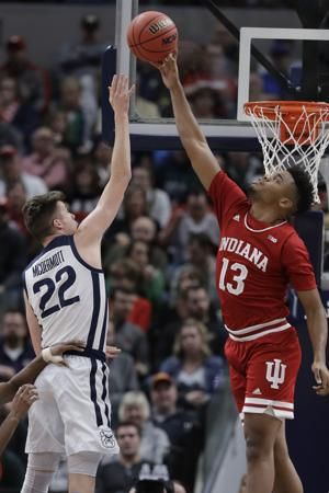 Buzzer-beating 3 sends No. 25 Indiana past Butler 71-68