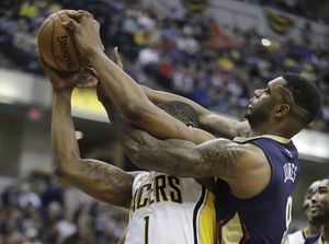 Teague, George help Pacers hold off Pelicans 98-95