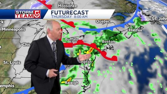 Video: Rain approaches for Thanksgiving