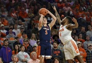 Guy, No. 4 Virginia stay perfect with 63-43 win over Clemson