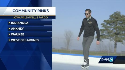 Wild opens latest community rink in Indianola