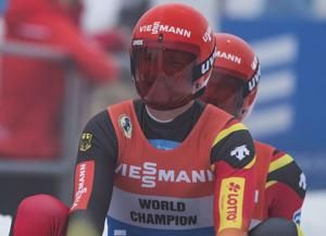 Germany, Austria take golds on Day 1 of World Cup luge stop