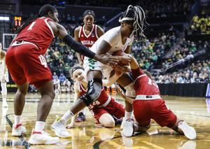 Ionescu has a triple-double and Oregon downs Indiana 91-68