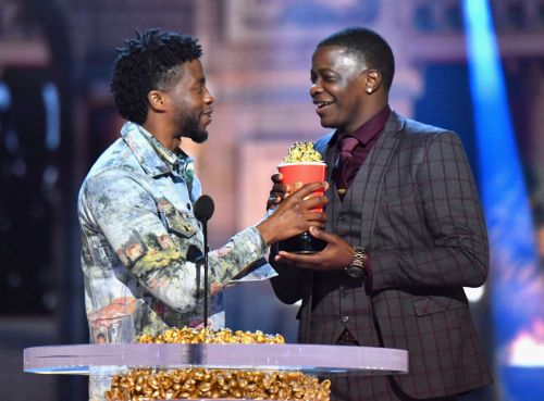 ​'Black Panther' actor gives his MTV award to Waffle House hero​