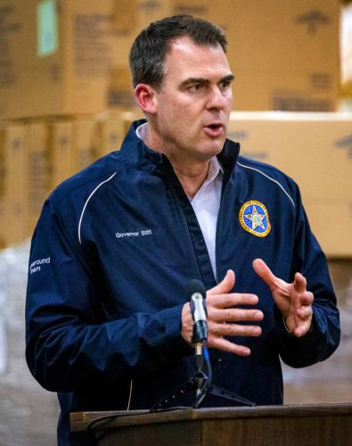 Coronavirus in Oklahoma: State-level first responders to get paid time off if they contract COVID-19, Stitt says