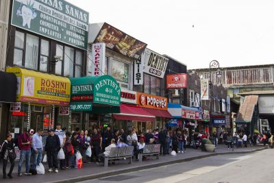 Looming Target shakes up Queens shopping street