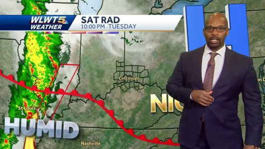 More Humid With A Shower Threat
