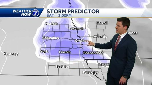 Light snow arrives Saturday afternoon, more rounds next week
