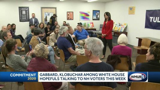 Gabbard, Klobuchar discuss local issues in visits to NH