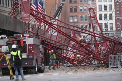 Fatal NYC crane collapse blamed on operator error