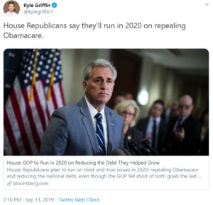 David Young Still Running on Disastrous Health Care Repeal