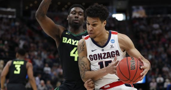 Gonzaga downs Baylor, rolls into Sweet 16 of NCAA tournament