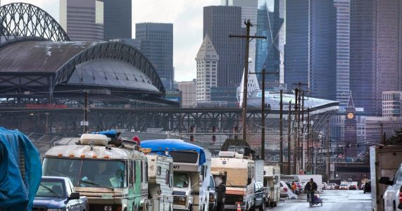 In Seattle's Sodo district, frustration mounts amid RVs, drugs and skyrocketing crime