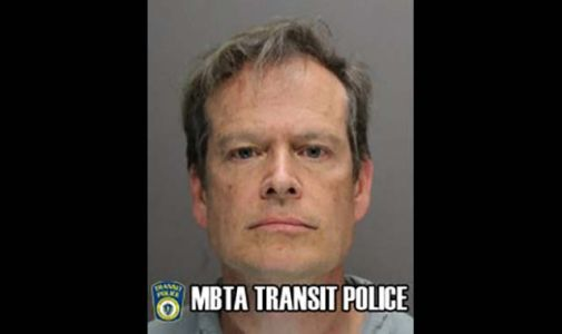 Man accused of lewdness on commuter train