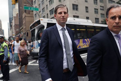 Eric Trump says he was spit on by employee at a Chicago bar