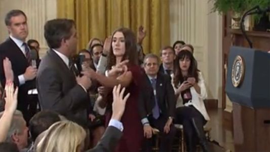 White House claims right to exclude 'grandstanding' Acosta