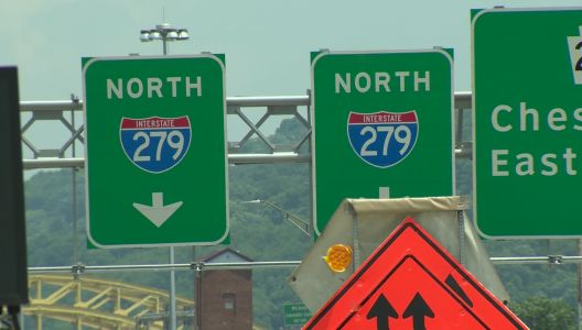 Lane closures will affect Parkway North traffic this weekend