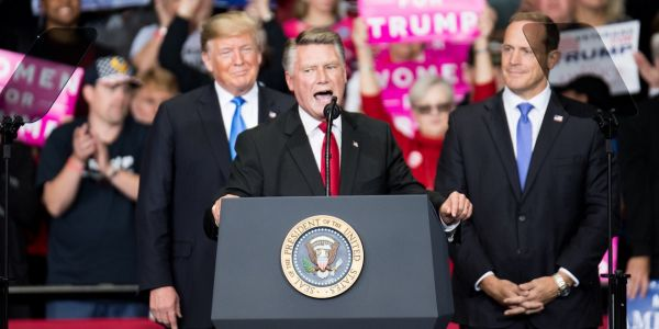 North Carolina Republican Mark Harris revealed his campaign owes $34,000 to a political operative accused of illegally collecting - and not submitting - absentee ballots