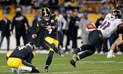 The Steelers clinch AFC North title, pulling off a last-minute comeback to beat Baltimore Ravens 39-38