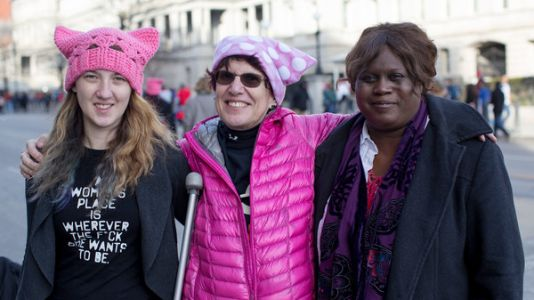 Women's March On Washington: 'We Are A Part Of America, So We Need To Be Out Here'