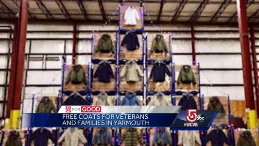 5 For Good: Free coats for veterans and families in Yarmouth