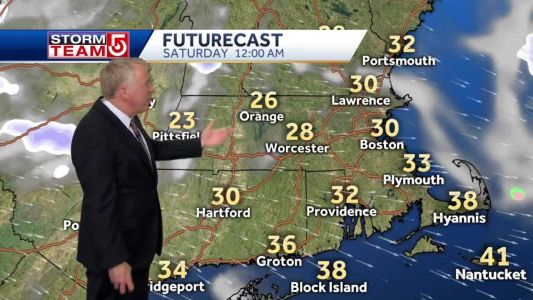 Video: Sunny, cold, windy weekend ahead