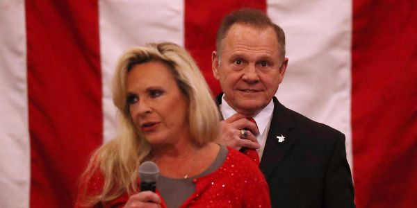 Roy Moore's wife: We can't be anti-Semitic, because 'one of our attorneys is a Jew'