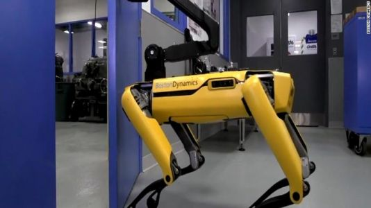Boston Dynamics' latest scary robot opens doors for its friends