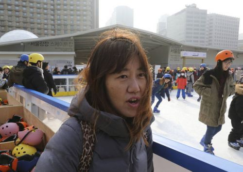 Not all South Koreans are happy about unified hockey team