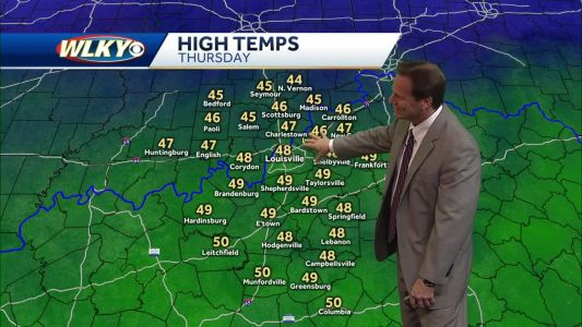 Drier weather expected overnight through Thursday