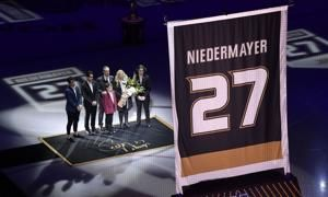 Ducks retire Hall of Fame defenseman Niedermayer's No. 27