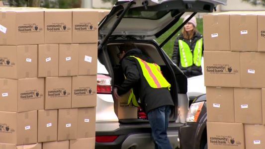 Greater Pittsburgh Community Food Bank holding emergency distribution at PPG Paints Arena Friday