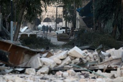 Aleppo's Old City Left a Wasteland of Ruins