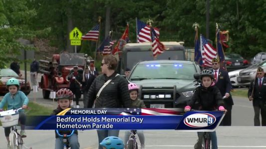 Bedford holds Memorial Day parade