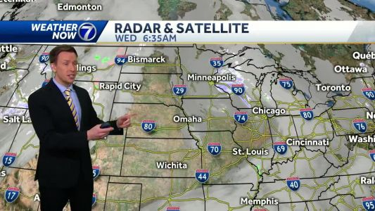 Highs climb into the 40s in Omaha for the first time in December