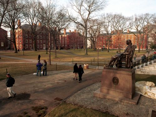Disappointing photos show what going to Harvard is like in real life
