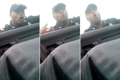 Video shows cop berating man, calling him a 'little p-y'