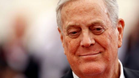 One of the world's richest people US billionaire David Koch dies at 79