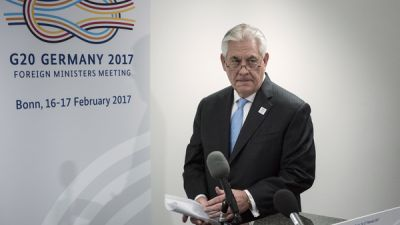 Secretary Of State Rex Tillerson Keeps Low Profile Since Taking Office